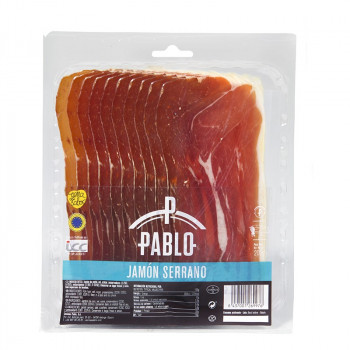 Serrano Ham Sliced Package 200gr