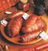 Un plato tradicional de botillo y androlla Maragata
