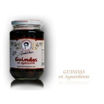 Guindas en Aguardiente (330 gr) - Prada a Tope