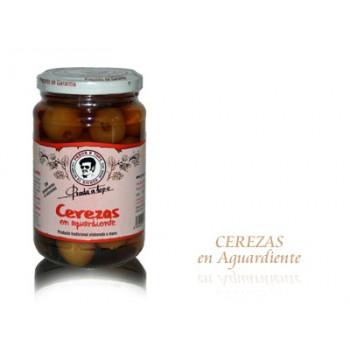 Cerezas en Aguardiente (870 gr) - Prada a Tope