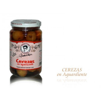 Cerezas en Aguardiente (330 gr) - Prada a Tope