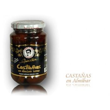 Castañas en Almibar (400 gr) - Prada a Tope