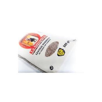 """Sack of lentils """"pardina"""" La Auténtica 500gr"""