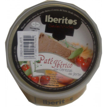 Iberian pate with cherries from Jerte