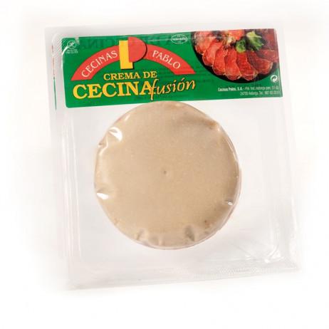 Crema de Cecina de vaca con queso Valdeón