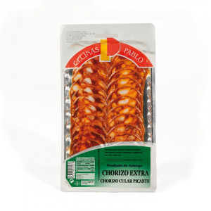 Chorizo cular sliced-150 GRS.- Unit