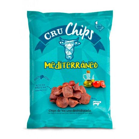 Snack de carne sabor mediterráneo