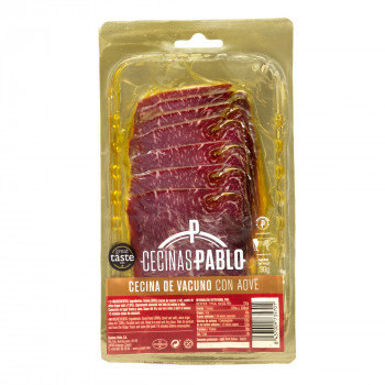 Cecina great selection with extra virgin olive oil