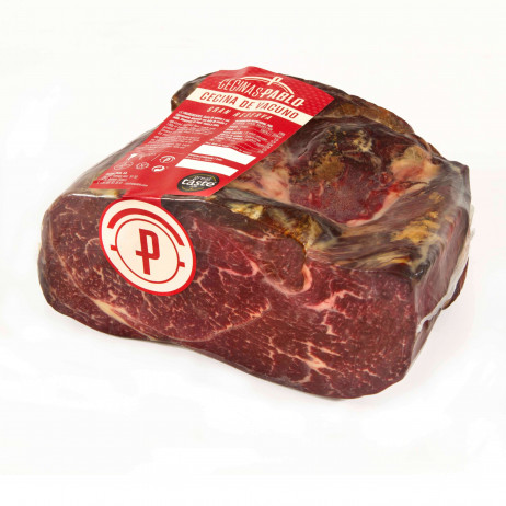 "Cured beef ""Cecina"" Polished big pieces"